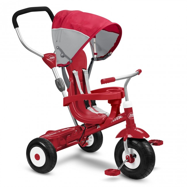 Radio Flyer All-Terrain Stroll 'N Trike Ride On for $79 ...